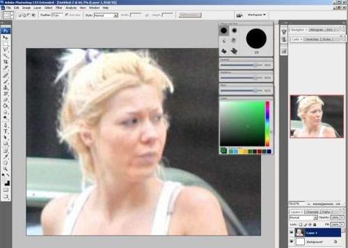 Din cauză că sunt urâte, prelucrarea mondenităţilor în Photoshop este extrem de dificilă