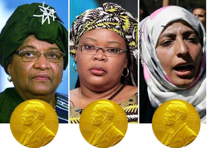 Premiul Nobel pentru pace, decernat unor femei care nu şi-au cicălit soţii o zi întreagă