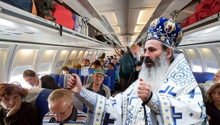 Parteneriat Tarom-BOR. Stewardesele, înlocuite cu preoţi, care vor aduna banii de Bobotează