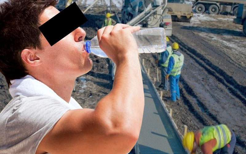 Minuni în lanţ! După primul metru de autostradă, în Moldova s-a băut primul litru de apă