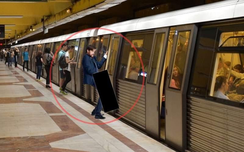 Bărbatul despre care s-a scris că și-a prins piciorul la ușa metroului: Ăla nu era picior!