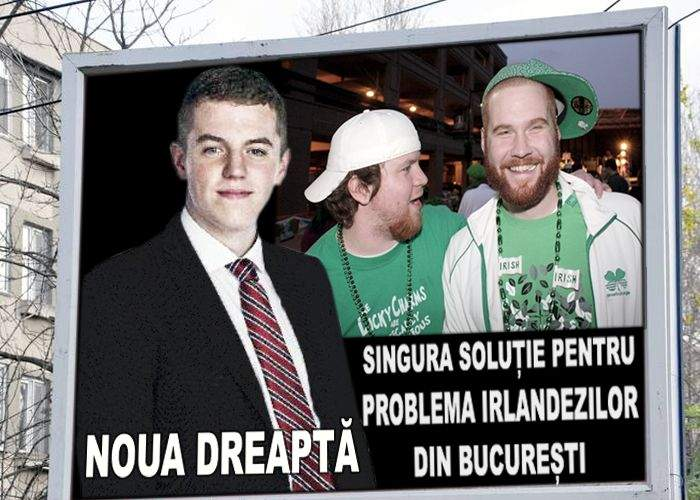 """Candidatul Noua Dreaptă la Primăria Capitalei: """"În două luni strâng toți irlandezii de pe stradă!"""""""