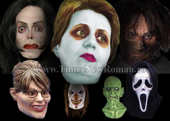Chipul profesoarei în greva foamei, cea mai bine vândută mască de Halloween în America
