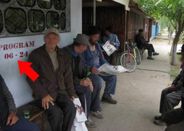Protest în Tecuci! Zeci de beţivi cer ca birtul să nu mai deschidă aşa devreme, ca să doarmă şi ei mai mult
