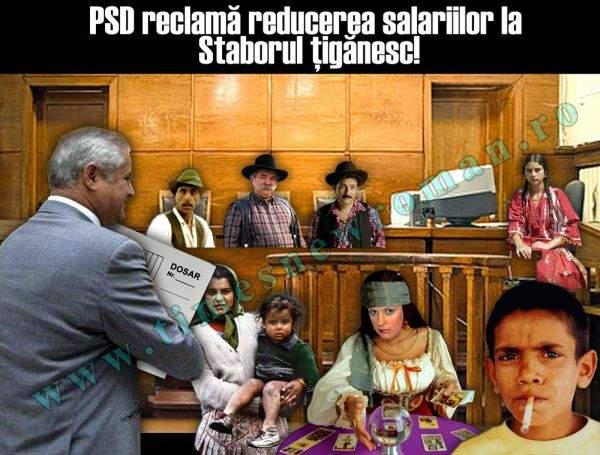 PSD reclamă reducerea salariilor bugetarilor la Staborul Ţigănesc