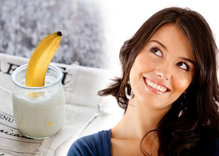 Marketing inteligent. Publicul feminin, cucerit de un iaurt care conţine banane întregi