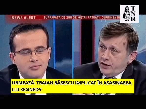 Gif-ul Zilei: Ce face Mihai Gâdea când trece Dan Voiculescu prin platou