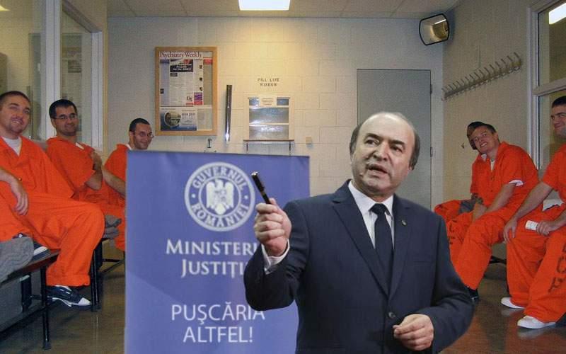 """Tudorel anunţă săptămâna """"Puşcăria altfel""""! Deţinuţii vor sta afară şi gardienii înăuntru"""