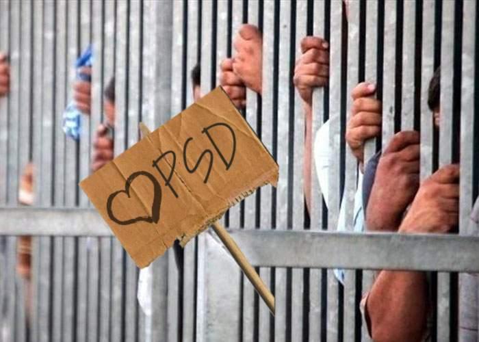 Disperaţi să organizeze odată mitingul de susţinere, PSD eliberează mâine 100.000 de infractori
