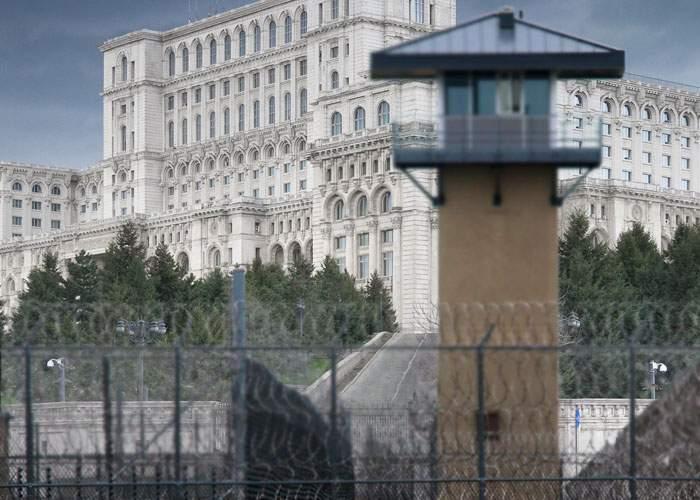 Alternativă la graţiere! Parlamentul, transformat în penitenciar: e foarte mare şi hoţii sunt deja înăuntru
