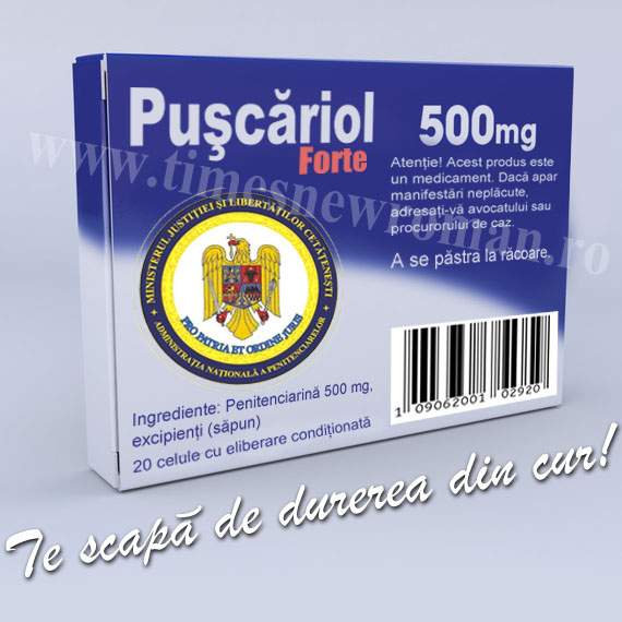Poza zilei: S-a inventat un medicament care tratează durerea în cur a politicienilor