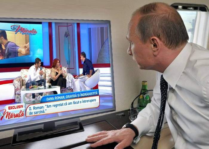 Război rece! Americanii amenință cu un video mult mai scârbos, cu Putin uitându-se la Măruţă
