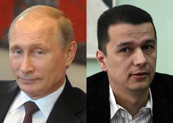 """Vladimir Putin, mesaj de încurajare pentru România: """"Îmi place Grindeanu, are buze moi"""""""
