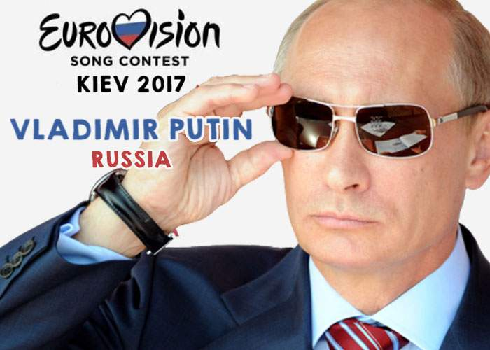 Rusia nu-şi mai asumă riscuri! La următorul Eurovision o să cânte direct Putin