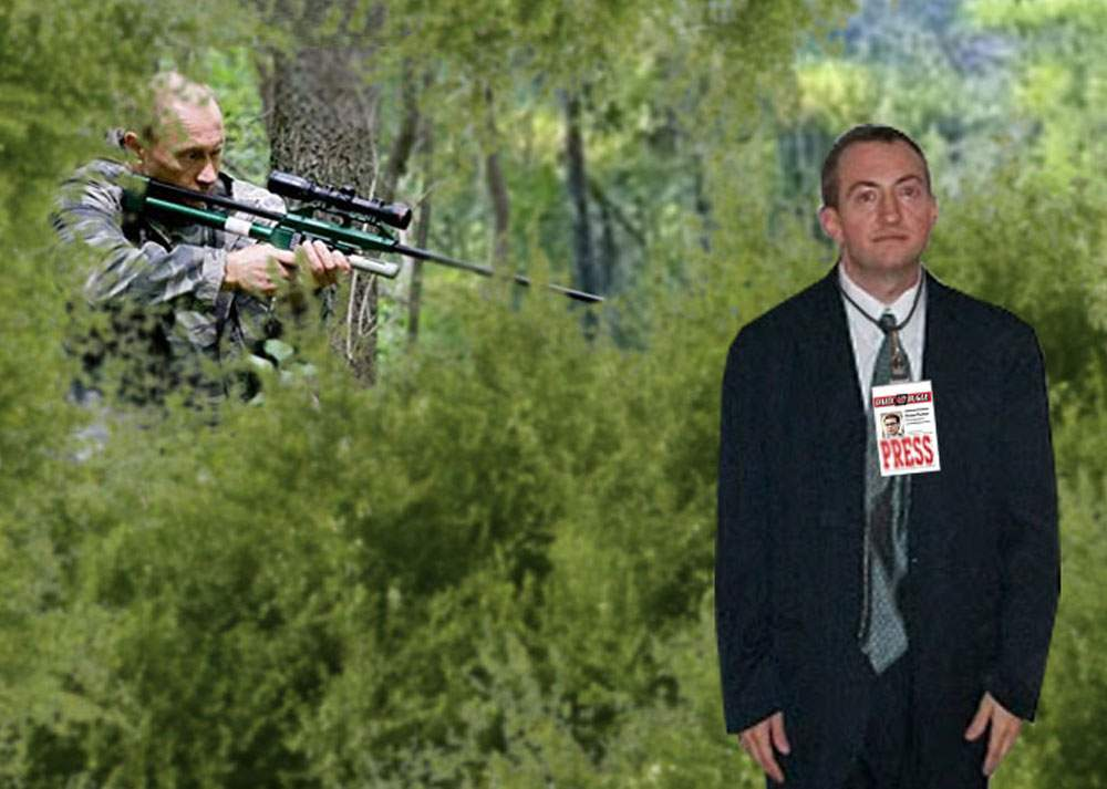 De ziua lui, Putin şi-a invitat prietenii oligarhi la o vânătoare de ziarişti în taiga