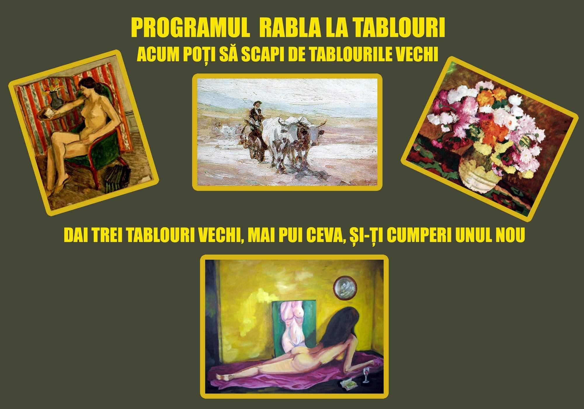 """Programul """"Rabla"""" pentru tablouri"""