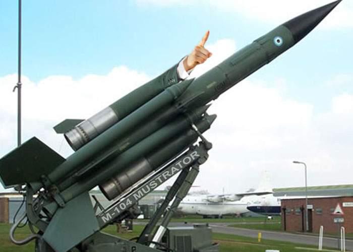 SUA a dotat armata cu rachete inteligente care zboară până la ruși, îi dojenesc și se întorc înapoi