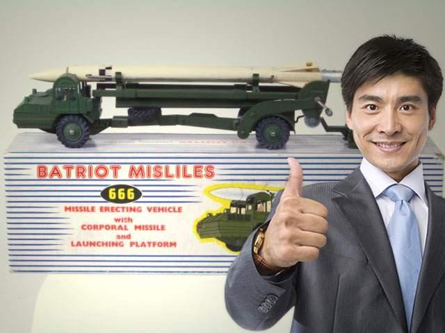 România renunţă la rachetele Patriot de 4 miliarde după ce China ne-a oferit rachete Batriot la un sfert de preţ