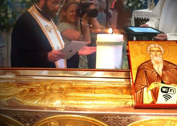 Biserica va sanctifica un monah care, după moarte, a început să izvorască wireless