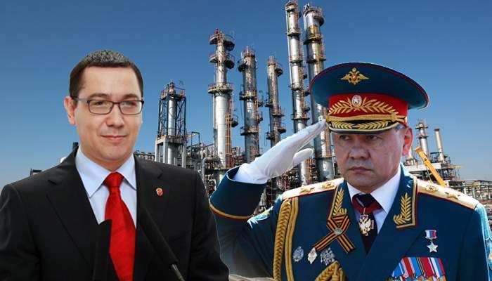 Fericit că ruşii au redeschis rafinăria Lukoil, Ponta le-a dat şi Rafinăria Petromidia!