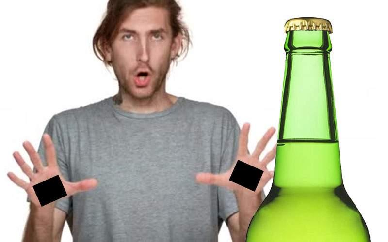 S-a întors Iisus? Un bărbat are găuri în palme de la capacele de bere cu twist-off