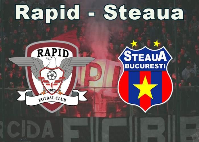 Zece lucruri pe care nu le ştiai despre meciul Rapid-Steaua