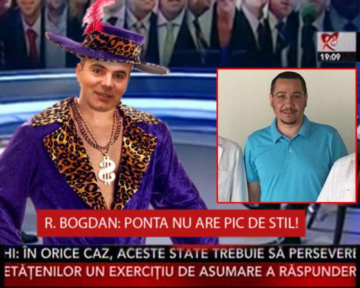 """Rareş Bogdan îl critică dur pe Ponta: """"Barba aia e penibilă fără o eşarfă Hermès!"""""""