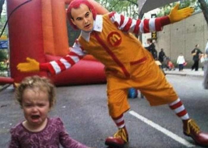 Atenţie, părinţi! Pentru că nu e sezonul de nunţi, Rareş Bogdan apare la petreceri de copii la McDonalds