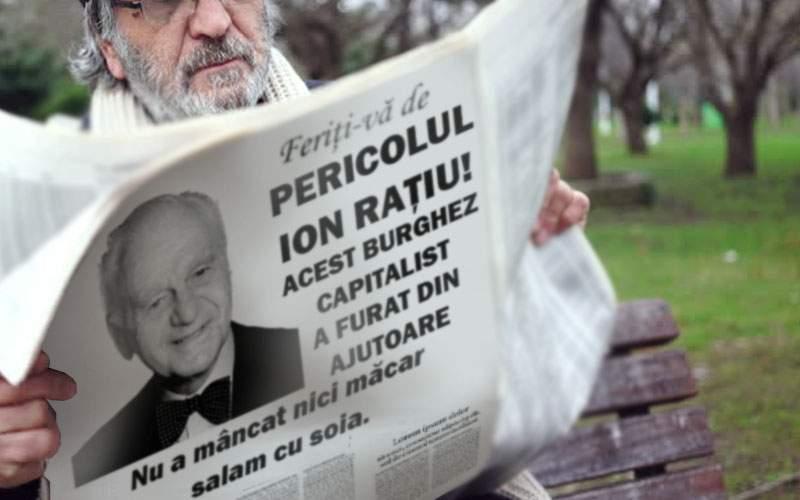 Au ajuns pliantele trimise de PSD cu Poşta Română! În ele e denigrat Ion Raţiu