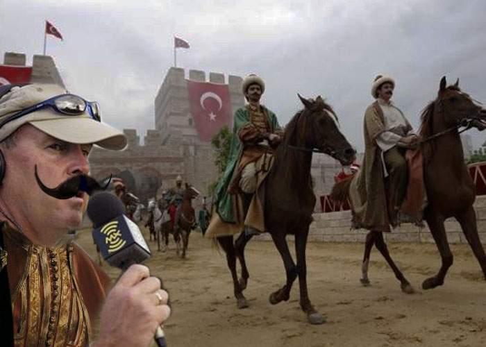 Corespendenţă de la Constantin Brâncoveanu-Firea, trimisul nostru special la graniţa turco-siriană