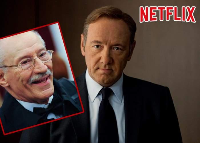 Acum chiar merită să-ţi faci cont: Netflix va fi dublat în română! Rebengiuc, vocea lui Kevin Spacey