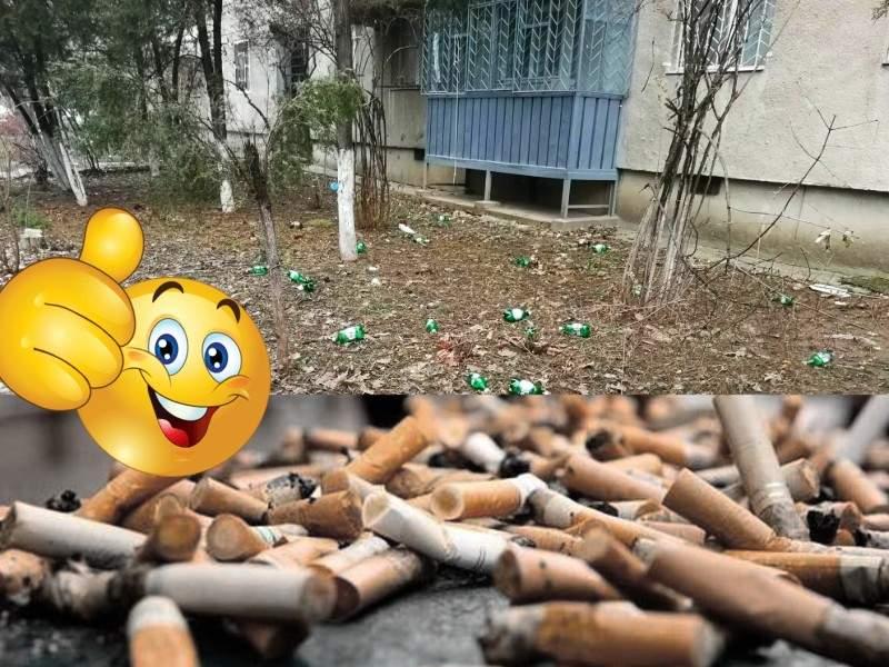 Tot mai mulţi români aruncă gunoiul selectiv: chiştoacele pe trotuar, PET-urile în iarbă