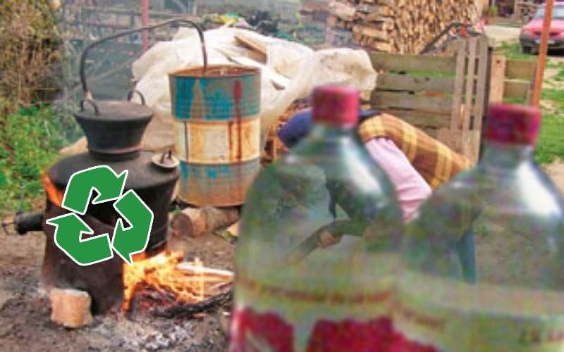 România, locul 1 în lume la reciclare! 94% din PET-uri sunt refolosite pentru ţuică
