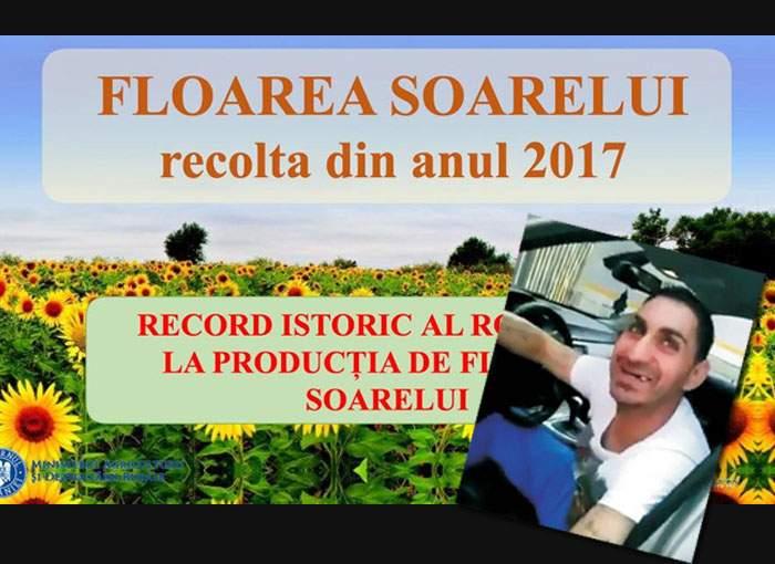 Dragnea îşi îndeamnă alegătorii să-şi pună dinţi, pentru că anul ăsta avem producţie record de floarea-soarelui