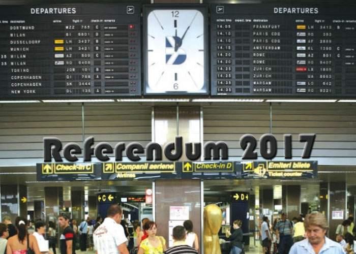 """S-a ales forma finală a întrebării de la referendum: """"Doriţi bagaj de cală?"""""""