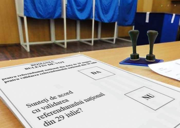 CCR: Validarea referendumului din 29 iulie se va decide printr-un nou referendum, pe 29 august