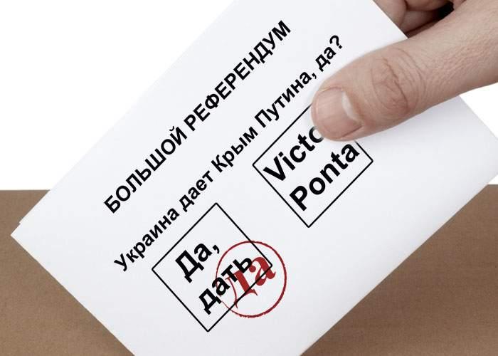 Locuitorii din Crimeea spun că n-au avut de ales şi au votat Rusia: Alternativa era Ponta!