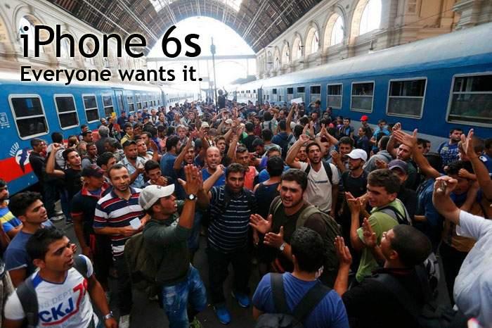 Apple a difuzat imagini cu refugiaţii, susţinând că se îngrămădesc la lansarea noului iPhone