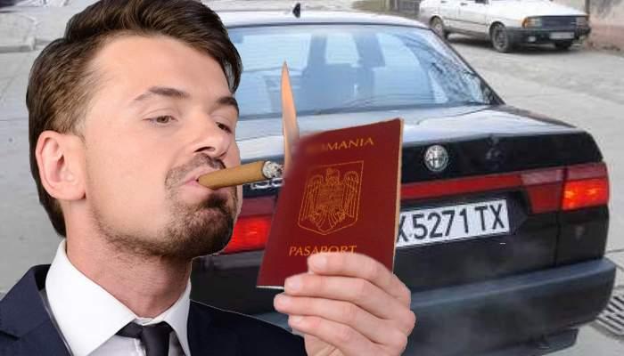 Inspirat! În loc să renunţe la numerele bulgăreşti, un bucureştean a renunţat la cetăţenia română