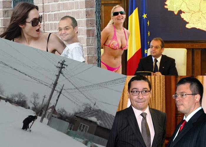 Evenimentele anului 2012 – Februarie: 10 texte despre ger, zăpezi şi demisia lui Emil Boc