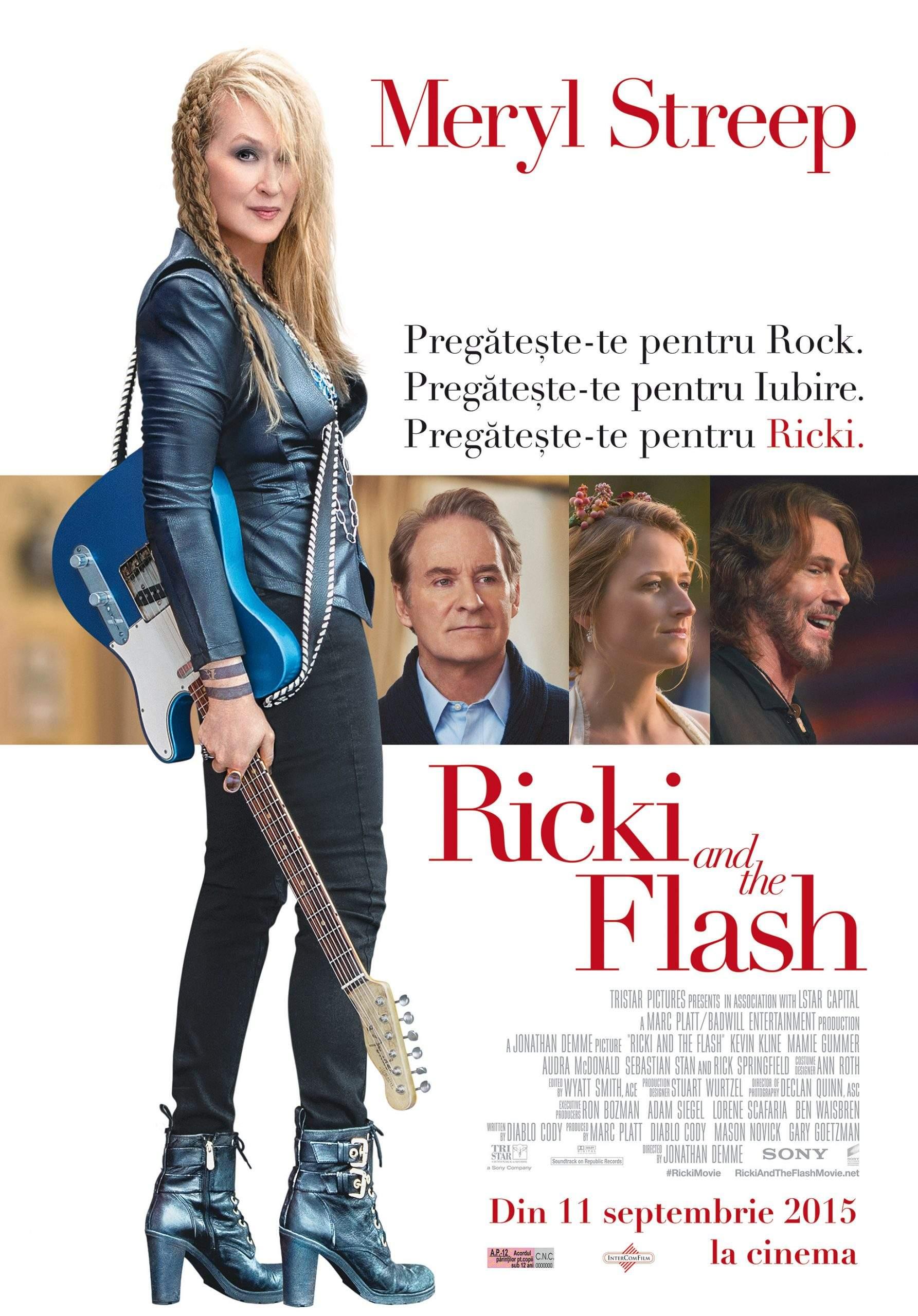 Ricki and the Flash (2015) – Mama rătăcitoare și fiica rătăcită