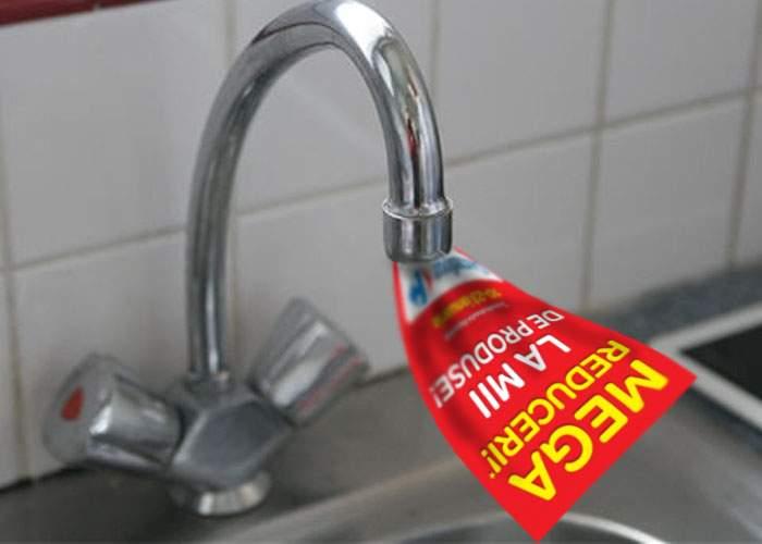 Pentru a reduce pierderile RADET, apa caldă va fi întreruptă de reclame
