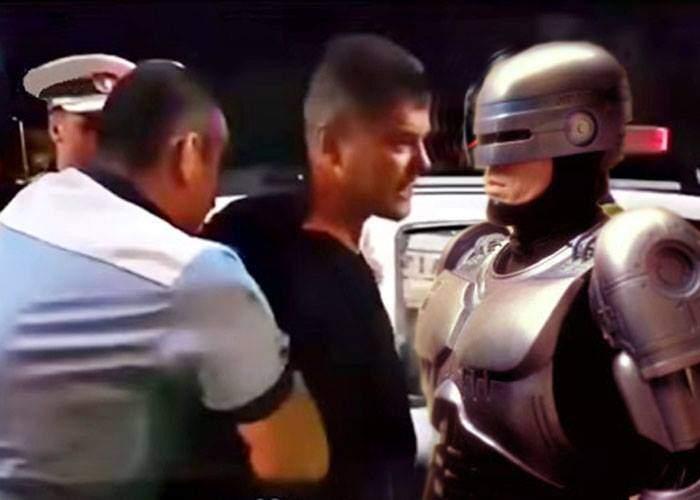 Ghinion pentru Boureanu! În reconstituirea incidentului rolul poliţistului va fi jucat de Robocop
