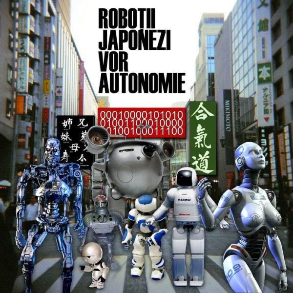 Roboţii japonezi au ieşit în stradă, nemulţumiţi de reducerile salariale