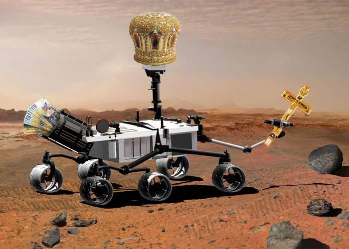 Reacţie promptă a Patriarhului Daniel: Vom trimite robotul Religiosity să sfinţească apa de pe Marte