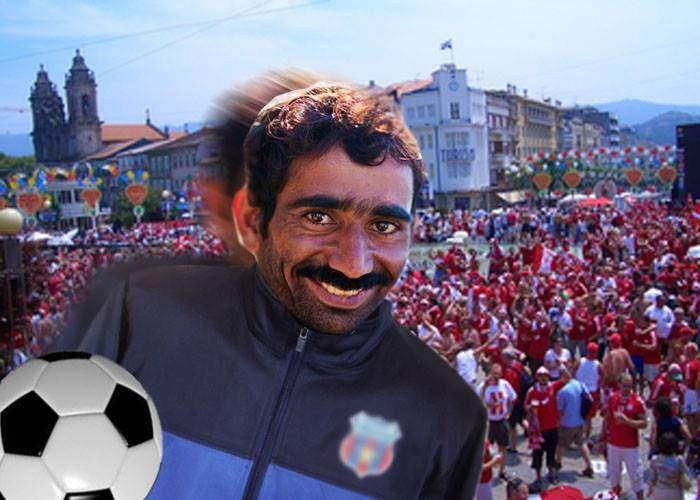 De ce nu-l convocaţi la naţională? Un român a furat o minge în Copenhaga şi a driblat 10 poliţişti