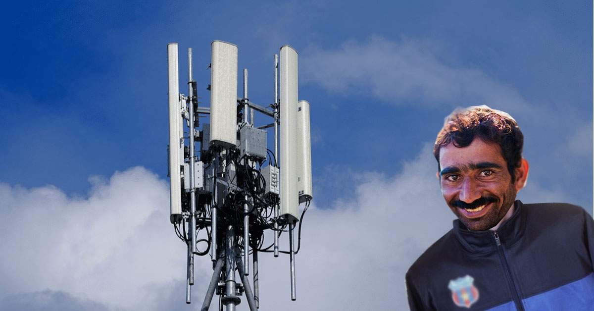 Un român angajat la Oculta Mondială şi-a făcut antenă 5G din piese furate de la muncă