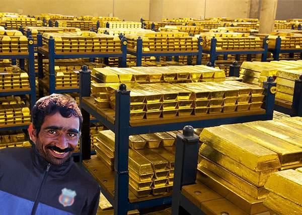 Dezamăgire! Câţiva români au furat 2 tone de aur dintr-o bancă, crezând că e cupru
