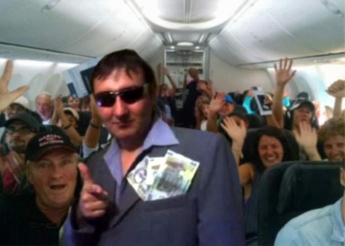 Gata cu aplauzele la aterizare! TAROM le dă voie călătorilor să-i lipească pilotului bani pe frunte