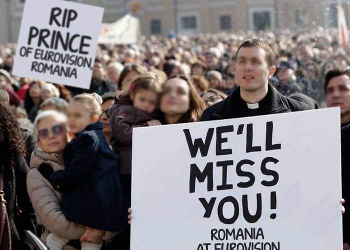 Adevăratul doliu din muzică e că România nu mai participă la Eurovision, nu că a murit Prince